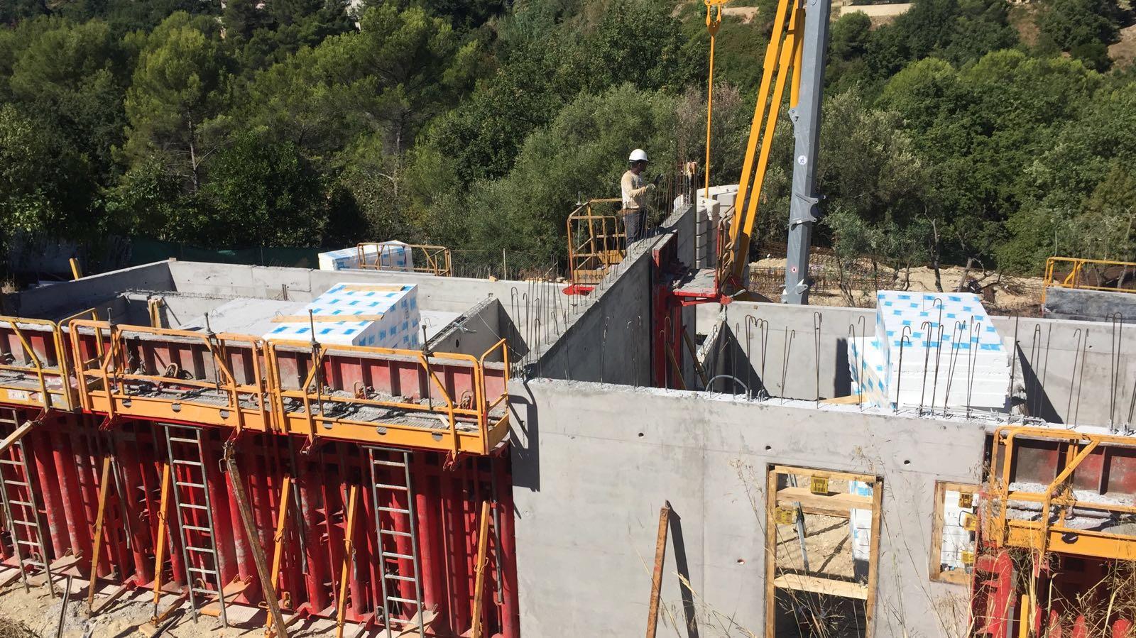 LES JARDINS DU PEYMONT - LA GAUDE - Construction de six maisons en R+1 en tout corps d'état - Août 2016 à Avril 2017